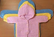 Crochet free jackets