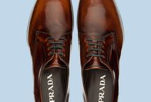 Business Shoes / Prada brown tips