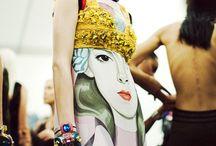 S/S14 Trends: Art Class / Arty-inspired catwalk looks