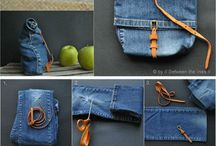 Denim Bags, Pocket etc DIY