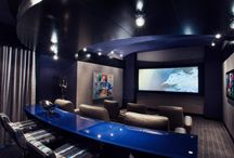 Home theater rooms/ Man caves