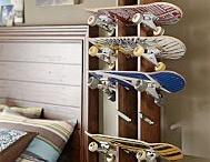 Camo Skateboard bedroom / by Jennifer Earp