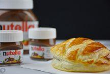 Nutella / Recipes made with Nutella / Les recettes pour les amoureux de Nutella