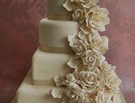 Champagne Ivory Courthouse Wedding