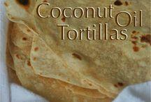 Tortillas Di Farina Di Cocco