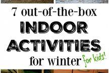 Winter indoor activities