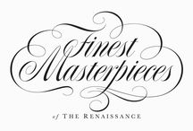 Flourishes / Examples of handlettering in which creative flourishes feature
