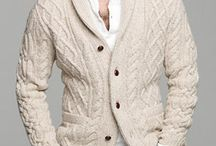 Cardigan/knit menswear