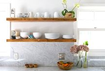 Shelves and Counters