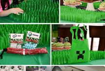 Gages Minecraft Party / by Amanda Crane