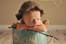 fishing inspired newborn photos / by Courtney Lou