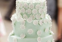 Mint green wedding / A Mint and Green palette inspiration board.