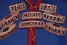 portafazzolettoni - wood badge woggle