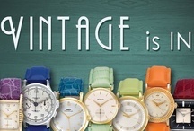 Vintage Watches / Just in time for summer, get great deals on authentic pre-owned & used vintage watches! See them all here: http://www.grayandsons.com/category/39