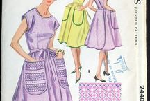 Vintage Patterns: Aprons / Vintage apron sewing patterns / by Cosmo