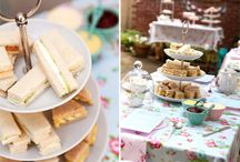 Tea party ideas and food