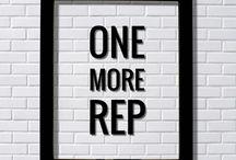 gym chalkboard ideas