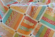 Jelly Roll and Strip Quilts / Jelly roll and strip pieced quilts and projects!