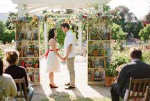 Wedding - decor - literature lovers