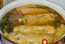 knedlíky vařené v polévce