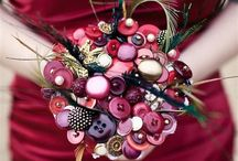 Button Wedding Bouquets / Wedding designs with buttons for a unique  look