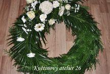 pietní a smuteční floristika