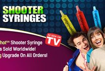 Fun Things to Do / Jello Shooter Syringes are so much fun!  Here are some banners from our website.