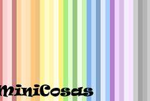 MiniCosas / Creación de miniaturas con arcilla polimerica/Creating thumbnails with polymer clay. www.facebook.com/pages/MiniCosas/