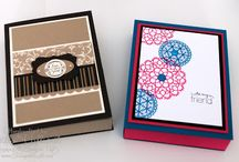 Card Holders / How to make different kinds of greeting card holders