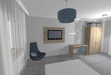 Hotel Molo Sopot / Wizualizacje pokoi