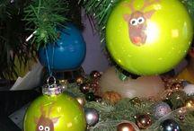 Weihnachtszeit DIY / Hier zeige ich euch ganz einfache und schnell hergestellte Aufmerksamkeiten zu Weihnachten.