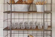 Storage and display racks