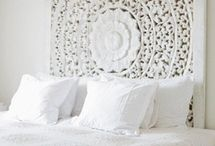 Great Headboards / A headboard can change the appearance of a whole bedroom. Find out how with our pick of images and step by step instructions of how to make your own.