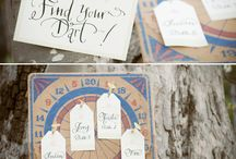 Unique Escort Cards/Seating Charts / by With An Indian Touch