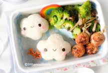 Lunchbox Ideas / Great lunch ideas for kids! Healthy lunch ideas, healthy snack ideas, bento lunches, and easy on the go foods.