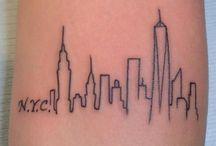 New York tattoo ❤️