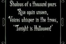 Samhain/Halloween/All hallows eve