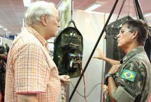 Purificador de água do Inpa em mochila para operações na selva