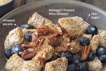 Warm Up Winter / Brrr, it's cold out there! Warm up with these Kellogg's creations.