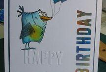 Cards of Birds
