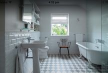 white wall tile