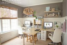 Home Office Design / Idea's for designing a home office