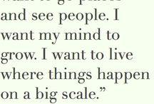 *my life