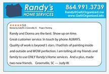 Randys Home Services Testimonials / Testimonials