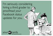 Spelling & Grammar are important