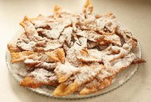 Carnival cakes in Romagna / The typical #carnival #pastry in Romagna  I #dolci di #Carnevale in Romagna