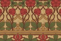 Building the house: Dining room friezes