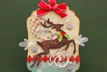 Christmas toppers and tags inspiration