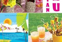Hawaiian Luau party / by Nancy Arabian-Tanachian