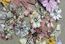 Textile art ideas for cards